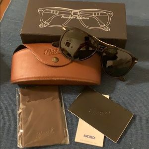 Persol Roadster Edition Aviator Sunglasses